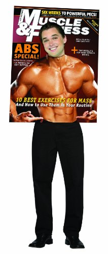 Muscle & Fitness Male Body Builder Magazine Adult (Body Builder Costume)