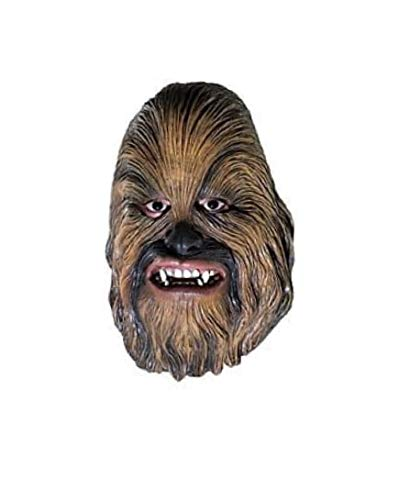 Rubie's Men's Star Wars Chewbacca Mask, Multicolor One -
