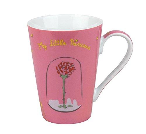 TAZA rosa ceramica