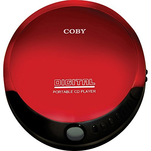 Coby Portable Compact Slim Design Personal CD Player