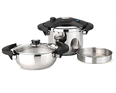 5-Piece Eclipse Pressure Cooker Set