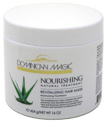 Dominican Magic Nourishing Revitalize Hair Mask 16oz Jar (6 Pack)