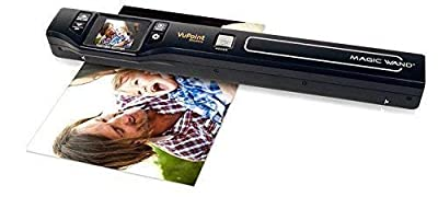 Vupoint Solutions Magic Wand Portable Scanner with Color LCD Display (PDS-ST470-VP)