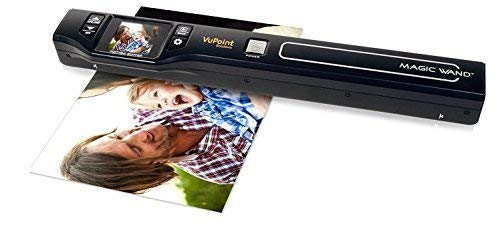 Vupoint Solutions Magic Wand Portable Scanner with Color LCD Display (PDS-ST470-VP) ()