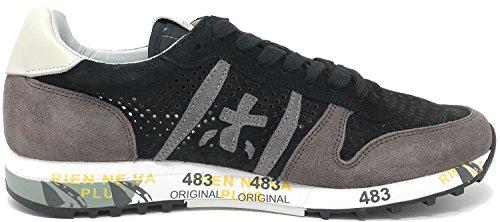 PREMIATA Eric V-3146, Sneaker Uomo Nero