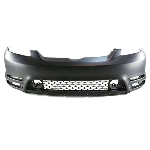 For 03-04 Matrix Front Bumper Cover Assy w/ Spoiler Holes TO1000237 5211902918 Bumper Cover Spoiler