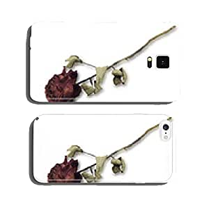 Dried Red Rose cell phone cover case Samsung S5