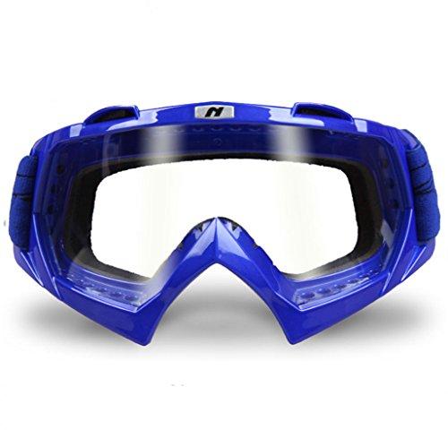 Viento Lentes Azul Gafas Montar Arena y para protegidas contra explosiones Todoterreno PC 14OZqTOw