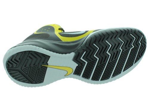 Nike Zoom Hyperfranchise Xd Mens Scarpe Da Basket 579835-700 Tour Giallo / Pr Pltnm / Night Stadium