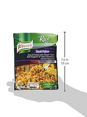 Knorr, Rice Sides, Flavor, 5.4oz Pouch (Pack of 6) (Choose Flavors Below) (Herb & Butter Rice)