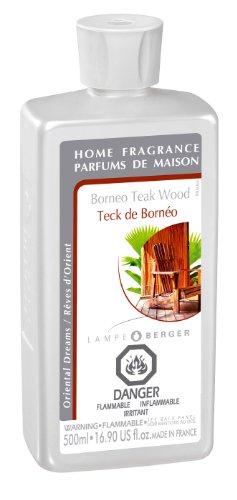 (Lampe Berger Fragrance - Borneo Teak Wood , 500ml / 16.9 fl.oz.)