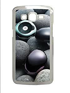 Samsung Grand 7106 Case and Cover -Stones and samsung gadgets PC case Cover for Samsung Grand 2 and Samsung Grand 7106 Transparent