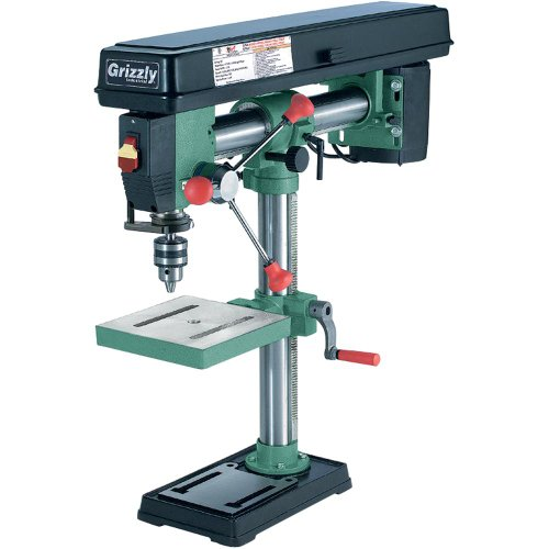 Grizzly G7945 5 Speed Bench-Top Radial Drill Press by Grizzly