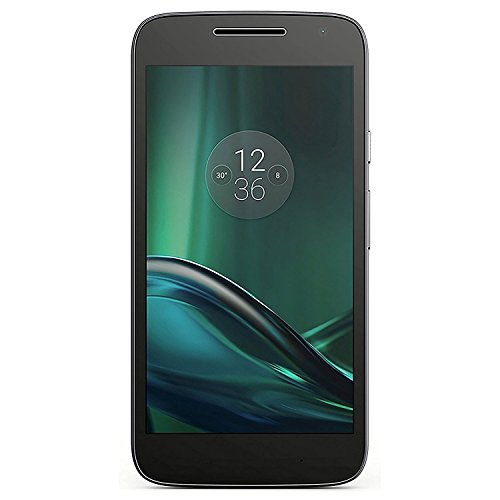 Motorola Gsm Smartphone - Motorola Moto G Play (4th Gen.) 16GB Unlocked GSM 4G LTE Android Smartphone w/ 8MP Camera - Black