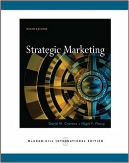 Book Strategic Marketing by David W. Cravens (2008-04-03)