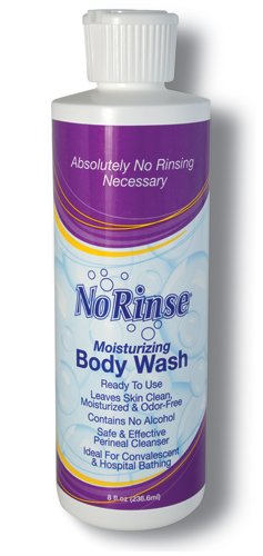 SPECIAL PACK OF 3-No Rinse Body Wash 8 oz. by Marble Medical