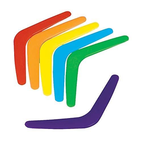 Fun Express - Plastic Bright Boomerangs (4dz/un) - Toys - Active Play - Misc Active Play - 48 Pieces