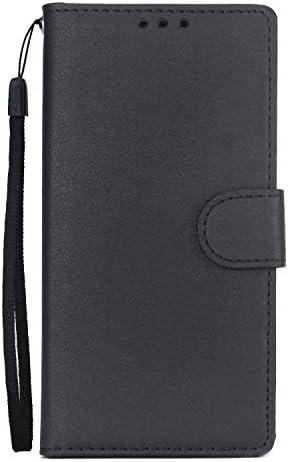 iPhone 7 PUレザー ケース, 手帳型 ケース 本革 防指紋 ビジネス 財布 カバー収納 スマートフォンカバー 手帳型ケース iPhone アイフォン 7 レザーケース
