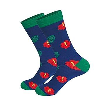 BBKAIW Calcetines Unisex Happy Socks Hombres Y Mujeres Arte Abstracción Creativo Alimentos Patrón Donut Cake Tostada Huevo Pochado Calcetines: Amazon.es: ...