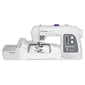 Singer Futura XL-550 215-Stitch Sewing and Embroidery Machine with Automatic Electronic Thread Cutter