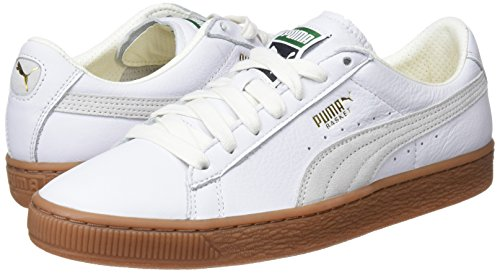 Blanc Gum Sneakers White Puma Mixte Deluxe Classic puma Basses Adulte Basket 8nIUUxRwBq