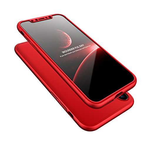 para iPhone X / 10 Funda, Vandot Alta Calidad Premium Cubierta Delgado Caso de Matte PC Hard Shell Funda Ultra Slim Anti-Scratch Protective Case Cover con Metal Webcam Cover para iPhone X / iPhone 10  QBHD PC 01