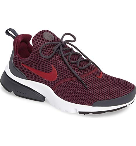 NIKE Mens Presto Fly Running Shoes Bordeaux/Noble Red-anthracite