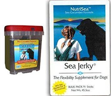(Sea Jerky Dog (Chicken and Rice) - Bulk Box)