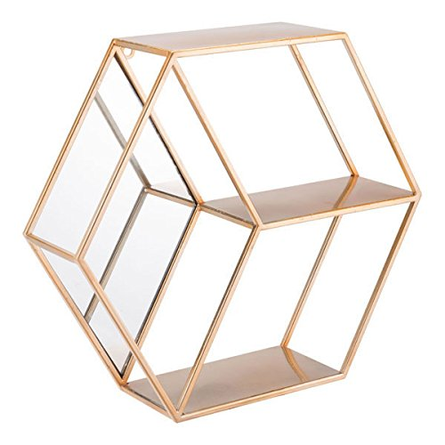 Zuo Bee Shelf, Gold (Gold Shelf)