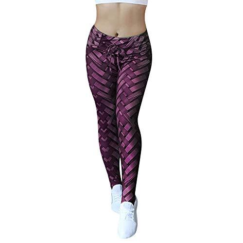 Pantalon De Survêtements Leggings Up Vif Longue Imprimé Collants Rose Sport Femmes Yoga Running Fitness Leggins Push Pour Course 8qwxtF0I