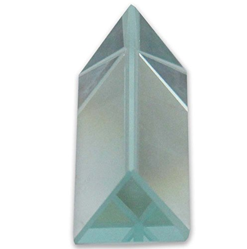 Hawk 1' X 2' Optical Glass Triangular Prism For Educational Or Photography Use, To Refract Light