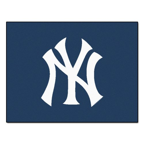 FANMATS MLB New York Yankees Nylon Face All-Star Rug - New York Yankees Baseball Rug