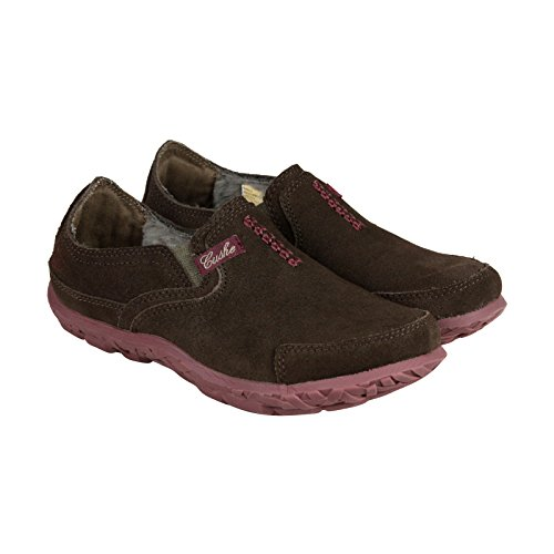 Cushe Womens Slipper Brown Suede Thermo Casual Loafers (11)
