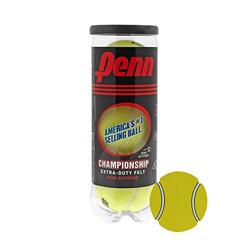 Penn Championship Extra Duty High Altitude Tennis Balls- Acer's Dozen, 13 Cans (39 Balls) Bundle with Exclusive InPrimeTime Tennis Ball Magnet