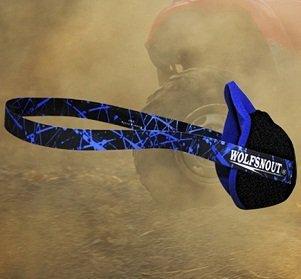 Wolfsnout All Sport Dust Mask Blue
