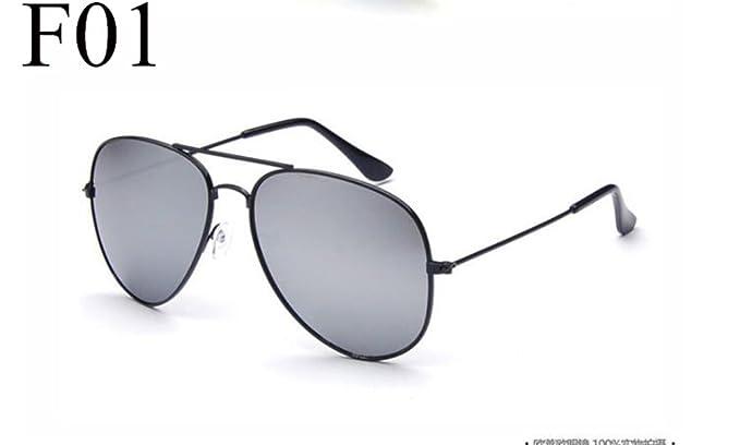 Pilot Silber Spiegel Sonnenbrille Sonnenbrille Silberrahmen Weißes Quecksilber Fg12nXSM0