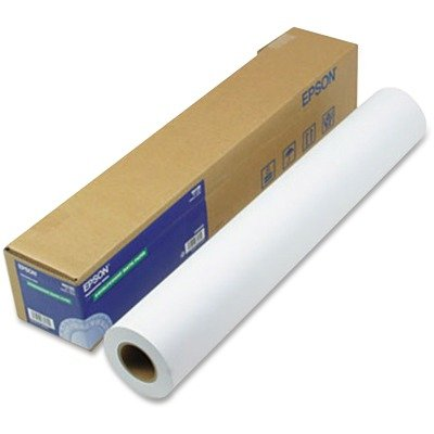 Epsonamp;reg; Double Weight Matte Paper, 24amp;quot;w, 82`l, White, Roll