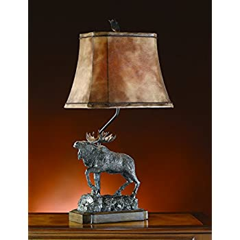 Perfect Majestic Moose Table Lamp