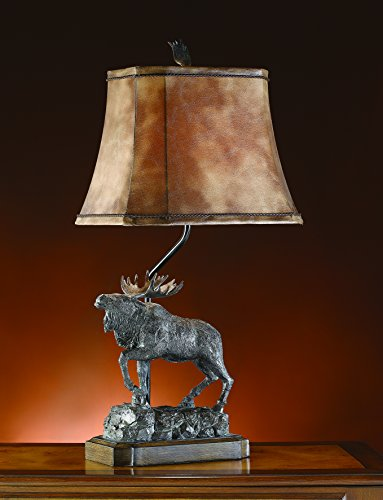 Crestview Collection Majestic Moose One-Light Table Lamp ()