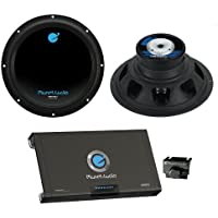 2) PLANET AUDIO AC12D 12 3600W Car Subwoofers Subs+2600W 2 Channel Amplifier