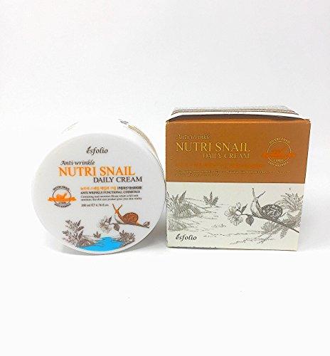 Nutri Snail Anti-Wrinkle Daily Cream by Esfolio (6.76 fl oz)