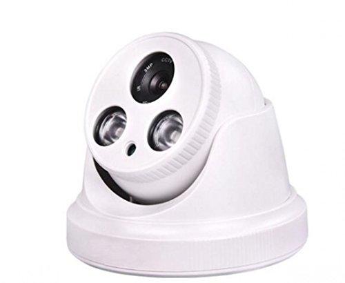 1200TVL 1/4CMOS 2LED visión nocturna 3.6mm lente cámara resistente al agua para interiores blanco [Us almacén] por...