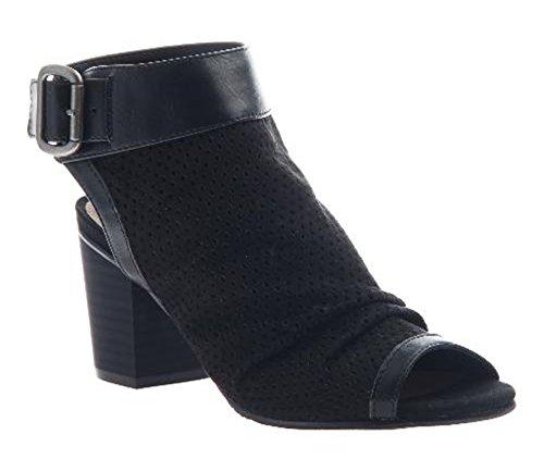 MADELINE girl Sassitude Heeled Sandals, Black 6.5 M ()