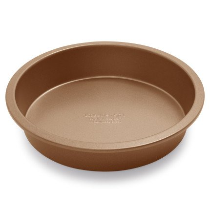 KitchenAid Professional-Grade Nonstick Round Cake Pan KB2NSO09RDWT, 9'' by KitchenAid