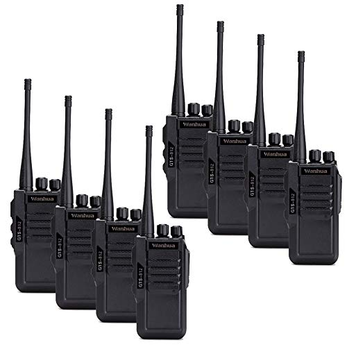 Nelc5kl Walkie Talkies Rechargeable Long Range Two-Way Radios with UHF 403-480Mhz Walkie Talkies 1800 mAh Li-ion Battery and Charger Included Radio (Size : E) by Nelc5kl (Image #4)