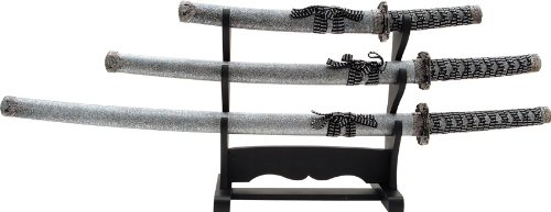 Whetstone Cutlery 3 Piece Heavy Katana Sword Set