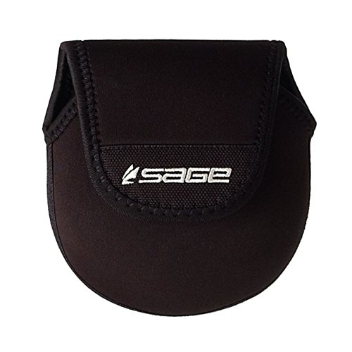 Sage Fly Fishing Neoprene Reel Case, Black, Medium