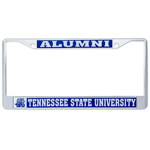 (Desert Cactus Tennessee State University Tigers Metal License Plate Frame for Front Back of Car Officially Licensed (Alumni))
