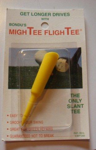 Yellow MighTEE FlighTEE Golf Tee Get More Distance   B008I5TQN6