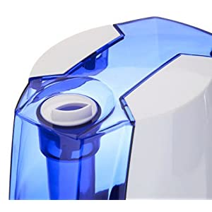 1.37 Gal. Cool Mist Digital Humidifier for Large Rooms – Up to 400 Sq. Ft - White/Blue